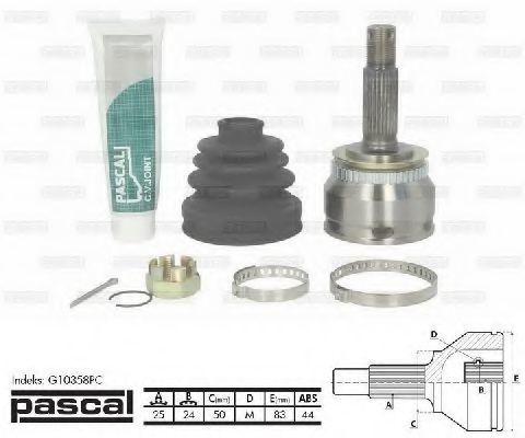 ШРУС внешний PASCAL G10358PC
