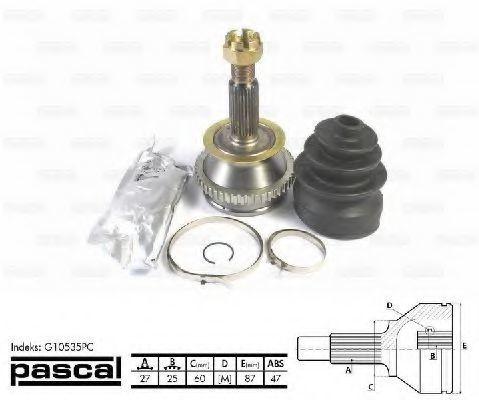 ШРУС внешний PASCAL G10535PC