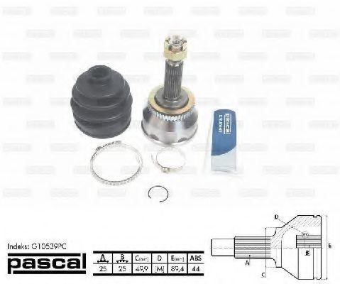 ШРУС внешний PASCAL G10539PC