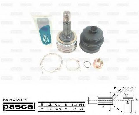 ШРУС внешний PASCAL G10541PC