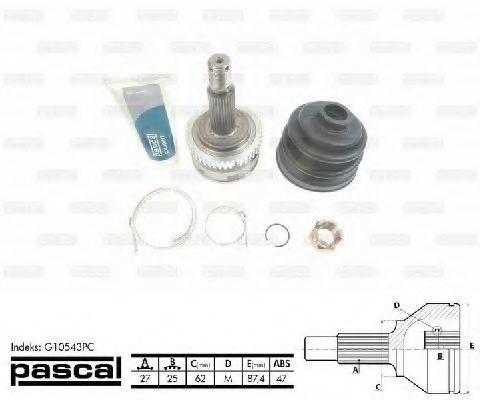 ШРУС внешний PASCAL G10543PC