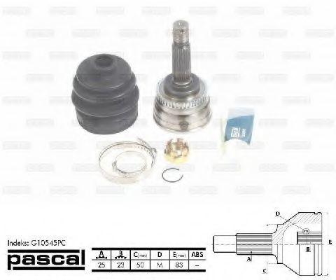 ШРУС внешний PASCAL G10545PC
