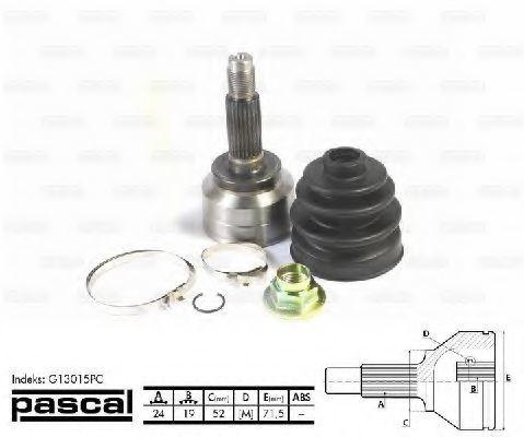 ШРУС внешний PASCAL G13015PC
