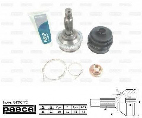 ШРУС внешний PASCAL G13037PC