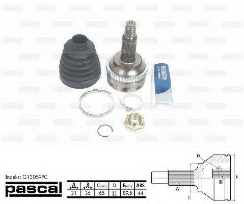 ШРУС внешний PASCAL G13059PC