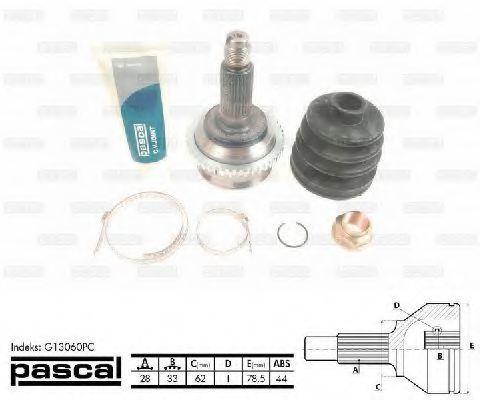 ШРУС PASCAL G13060PC