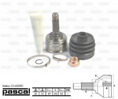 ШРУС внешний PASCAL G14000PC