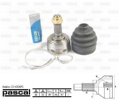 ШРУС внешний PASCAL G14006PC