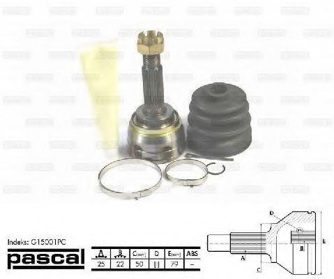 ШРУС PASCAL G15001PC