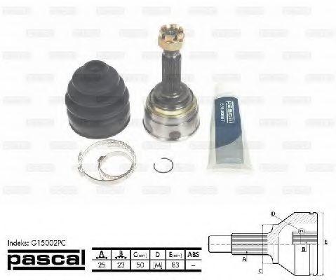 ШРУС PASCAL G15002PC