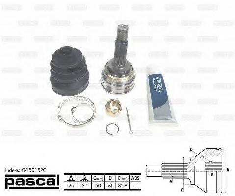 ШРУС внешний PASCAL G15015PC