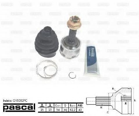 ШРУС PASCAL G15052PC