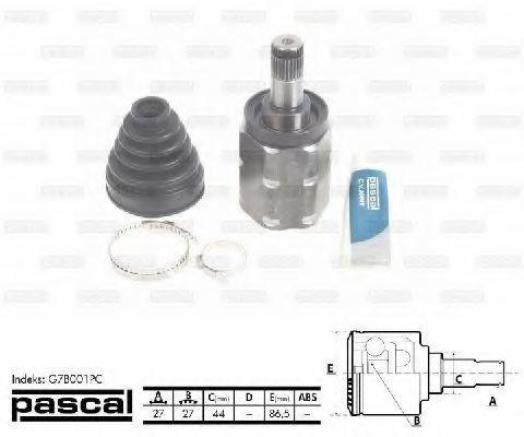ШРУС внутренний PASCAL G7B001PC