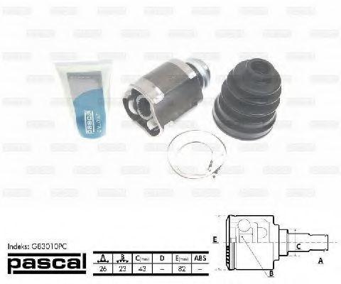 ШРУС PASCAL G83010PC