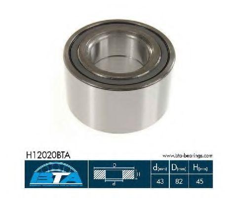 Подшипник ступицы колеса комплект BTA H12020BTA