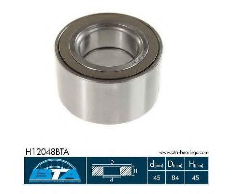 Подшипник ступицы колеса комплект BTA H12048BTA