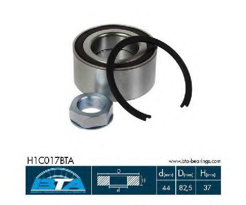 Подшипник ступицы комплект BTA H1C017BTA