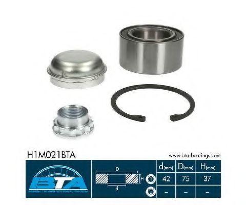 Подшипник ступицы комплект BTA H1M021BTA