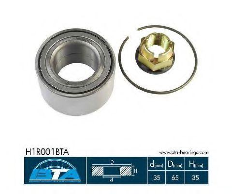 Подшипник ступицы BTA H1R001BTA
