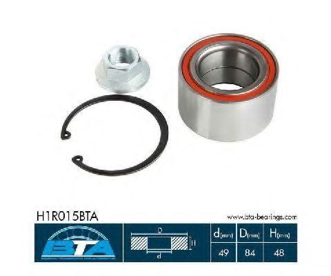 Подшипник ступицы колеса комплект BTA H1R015BTA
