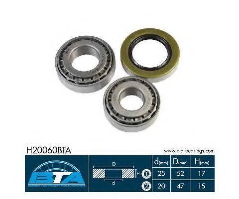 Подшипник ступицы комплект BTA H20060BTA