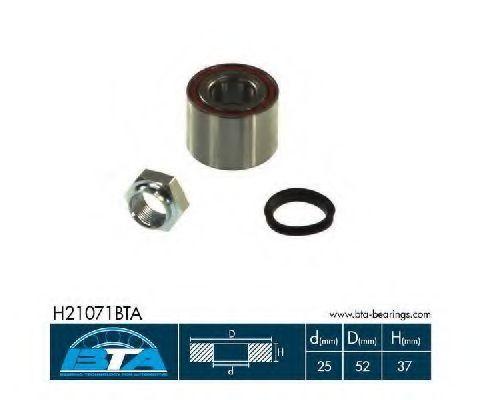Подшипник ступицы комплект BTA H21071BTA