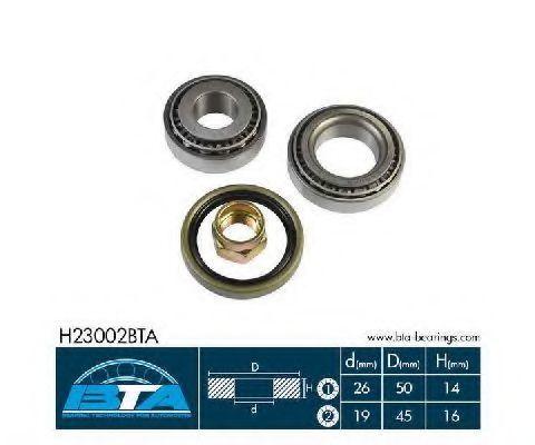 Подшипник ступицы комплект BTA H23002BTA