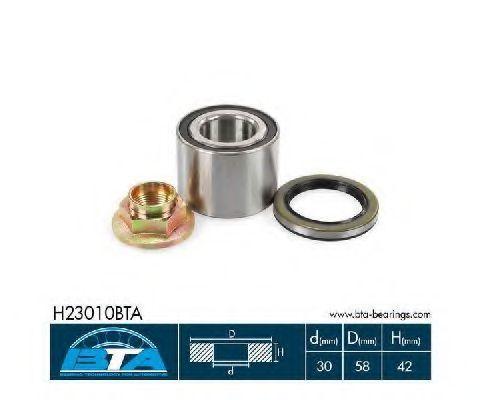 Подшипник ступицы комплект BTA H23010BTA