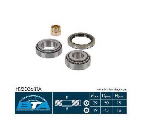 Подшипник ступицы комплект BTA H23036BTA