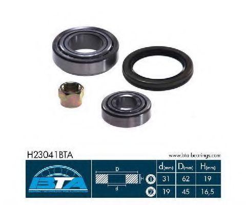 Подшипник ступицы комплект BTA H23041BTA