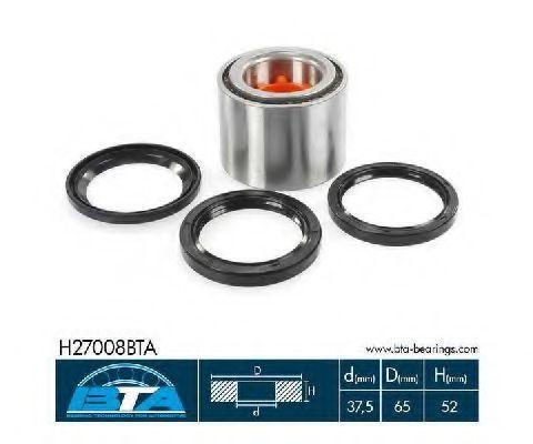 Подшипник ступицы комплект BTA H27008BTA