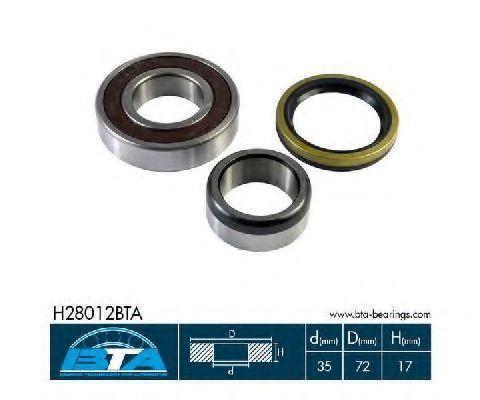 Подшипник ступицы комплект BTA H28012BTA