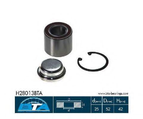 Подшипник ступицы комплект BTA H28013BTA