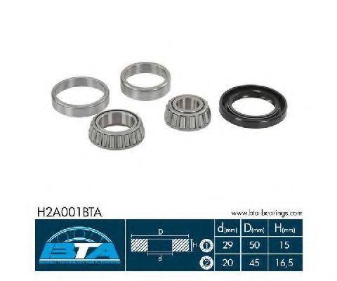 Подшипник ступицы BTA H2A001BTA