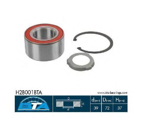 Подшипник ступицы BTA H2B001BTA