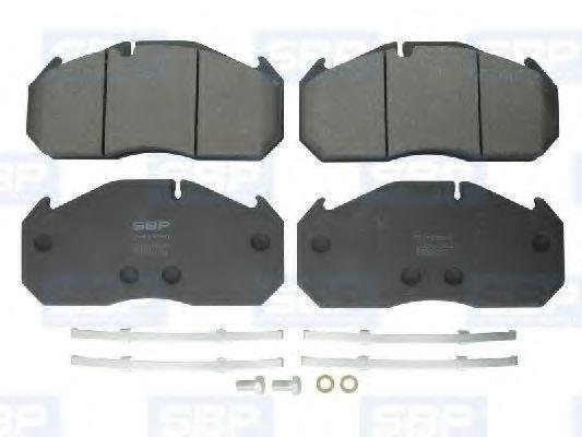 Колодки тормозные SBP 07-P29030
