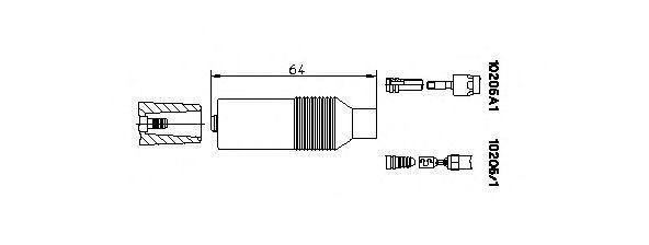 Вилка, катушка зажигания BREMI 102051