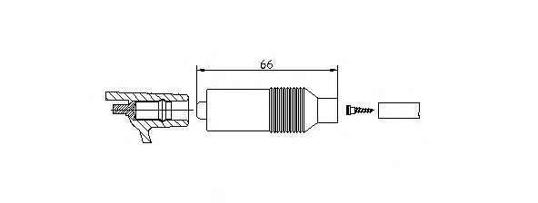 Вилка, катушка зажигания BREMI 102231