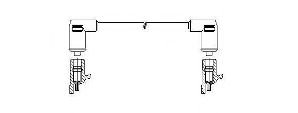 Провод зажигания BREMI 10745