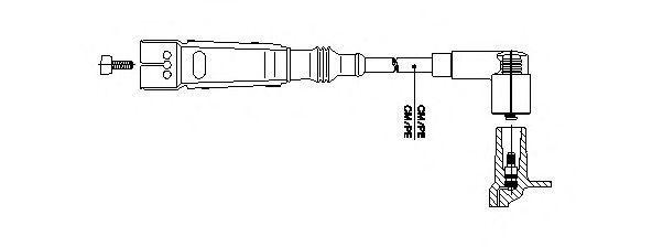 Провод зажигания BREMI 11150