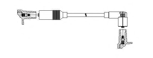 Провод высоковольтный BREMI 11540
