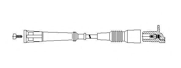 Провод зажигания BREMI 12250