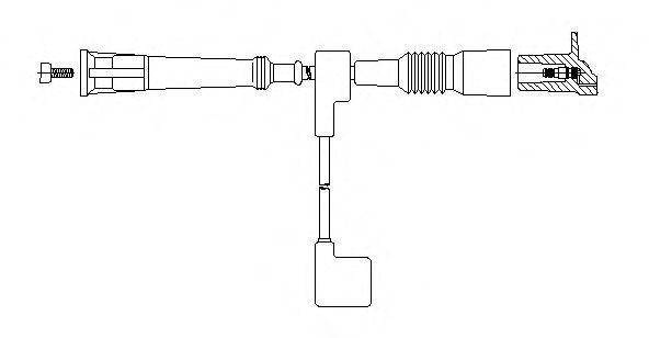Провод зажигания BREMI 12590