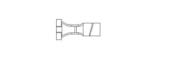Штекерная гильза, кабель зажигания BREMI 132006