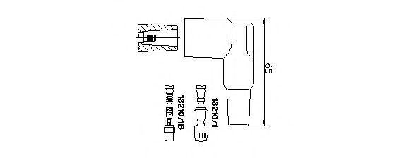 Вилка, катушка зажигания BREMI 132101