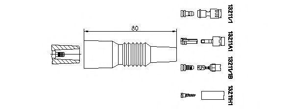 Вилка, катушка зажигания BREMI 132111