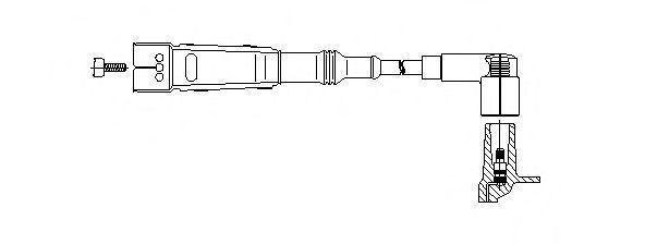 Провод зажигания BREMI 151120