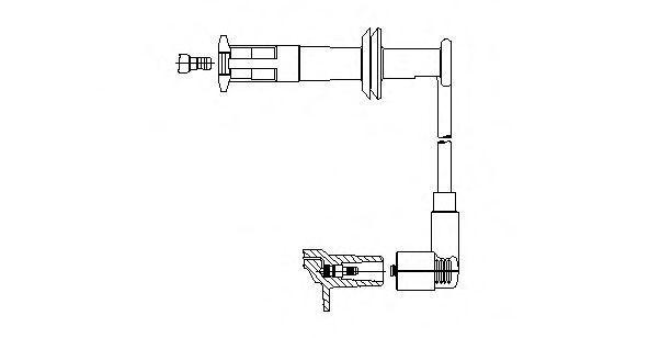 Провод зажигания BREMI 17330
