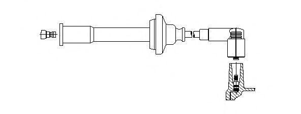 Провод зажигания BREMI 1A08100