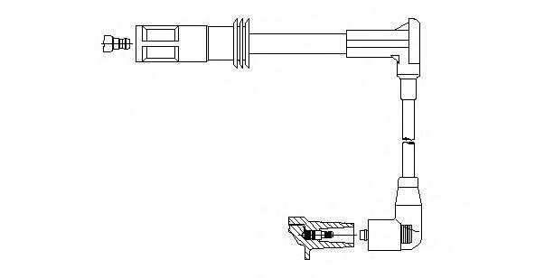 Провод зажигания BREMI 21214